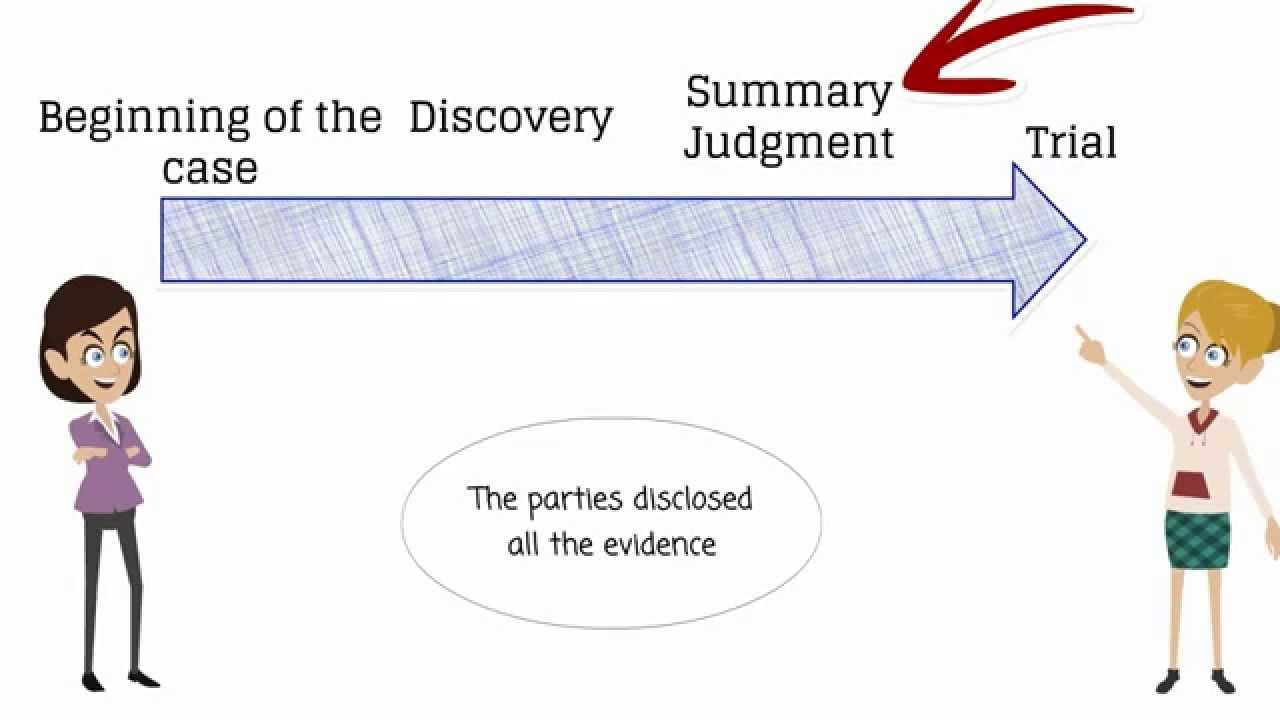 Summary Judgement