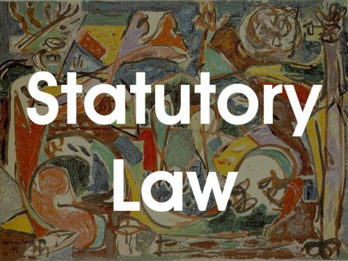 What is Statutory Law? Becoming a Statutory Lawyer